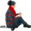 woman short story reading