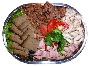 Atkins? Meat plate