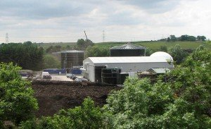 Food Waste Anaerobic Digestion Plant at Deerdykes