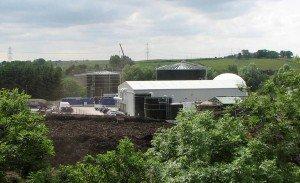 Food Waste Anaerobic Digestion Plant at Deerdykes