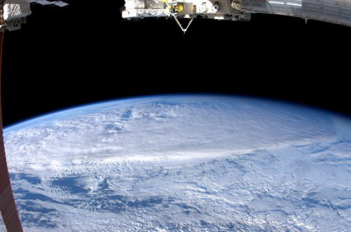 Cyclone Yasi - Its enormous size -as seen from space