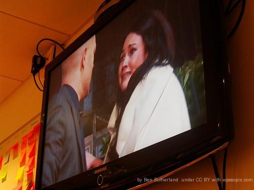 Not Hannah Waterman - An Eastenders TV Soap Scene