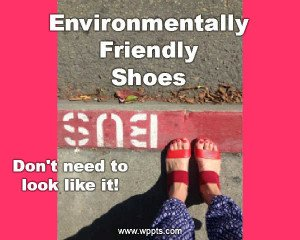 Iamge shwos: Environmentally friendly sandals